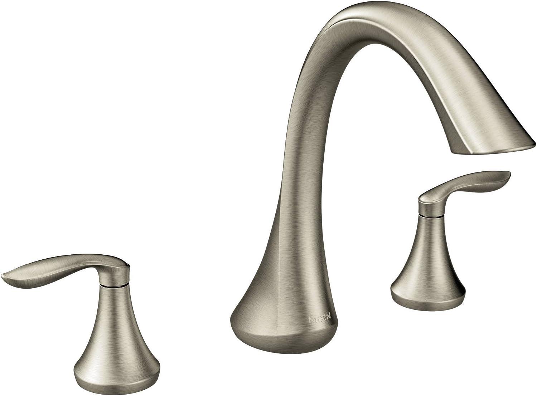 Moen Eva Two-Handle High-Arc Roman Tub Faucet