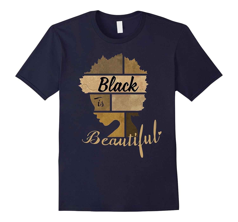 Black is Beautiful T-Shirt African Pride Gift-CD