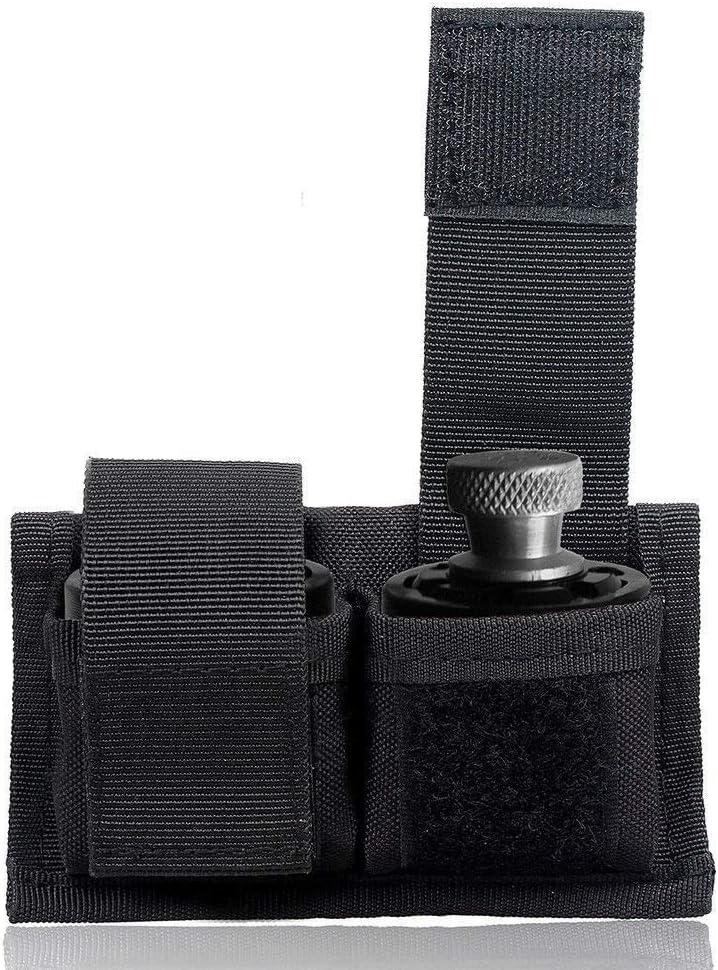 Black or Camo HKS Cordura Double Speedloader Case with Velcro Closure