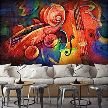 Xbwy Custom Photo Wallpaper Modern Design Hand Painted Abstract ...