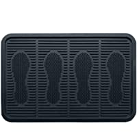 SafetyCare Heavy Duty Flexible Rubber Boot Tray, Multi-Purpose for Shoes, Pets, Garden - Mudroom, Entryway, Garage. Indoor or Outdoor - Floor Protection, Use As Pet Feeding Tray, or Cat Litter Tray