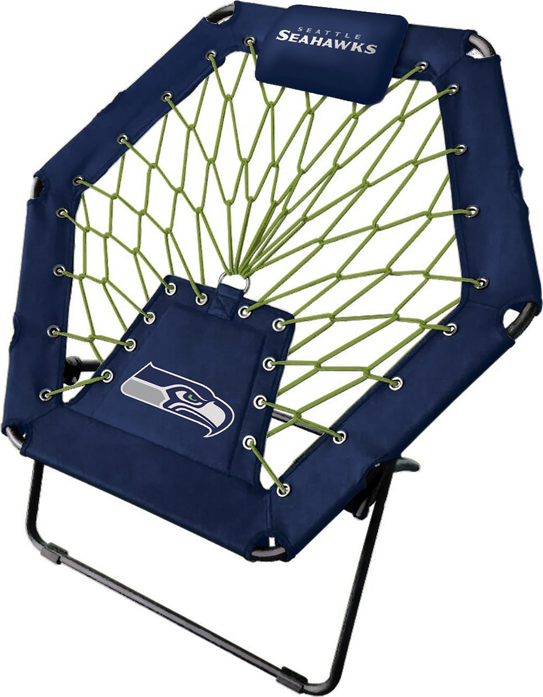 Imperial Officially Licensed NFL Furniture: Premium Bungee Chair, Seattle Seahawks by Imperial