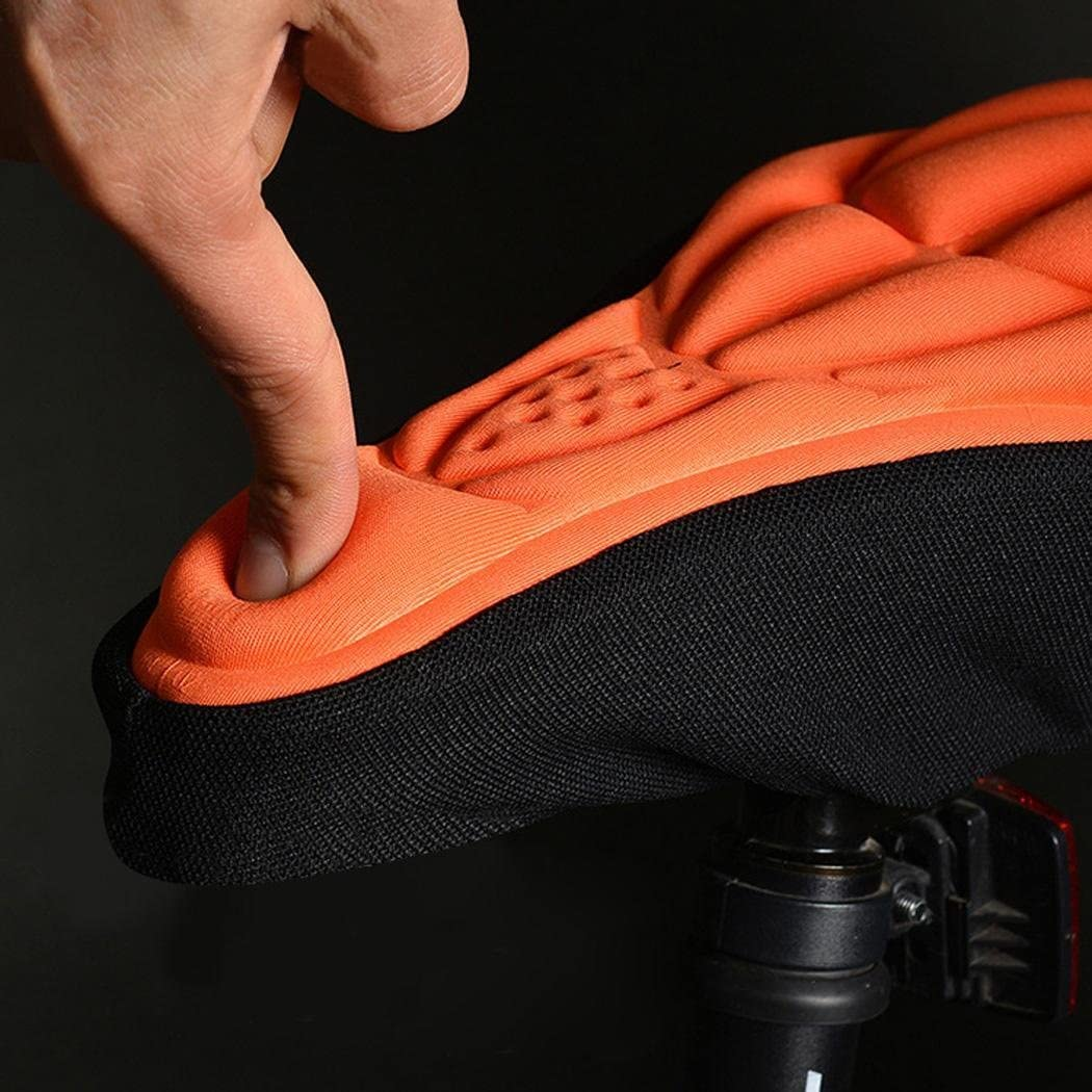 Weardear 7.0 x 10.9inch Bike Saddle Cover//Bike Seat Cover 3D Soft Saddle Pad Cushion Seat Cover for Mountain Bike Bicycle Saddles