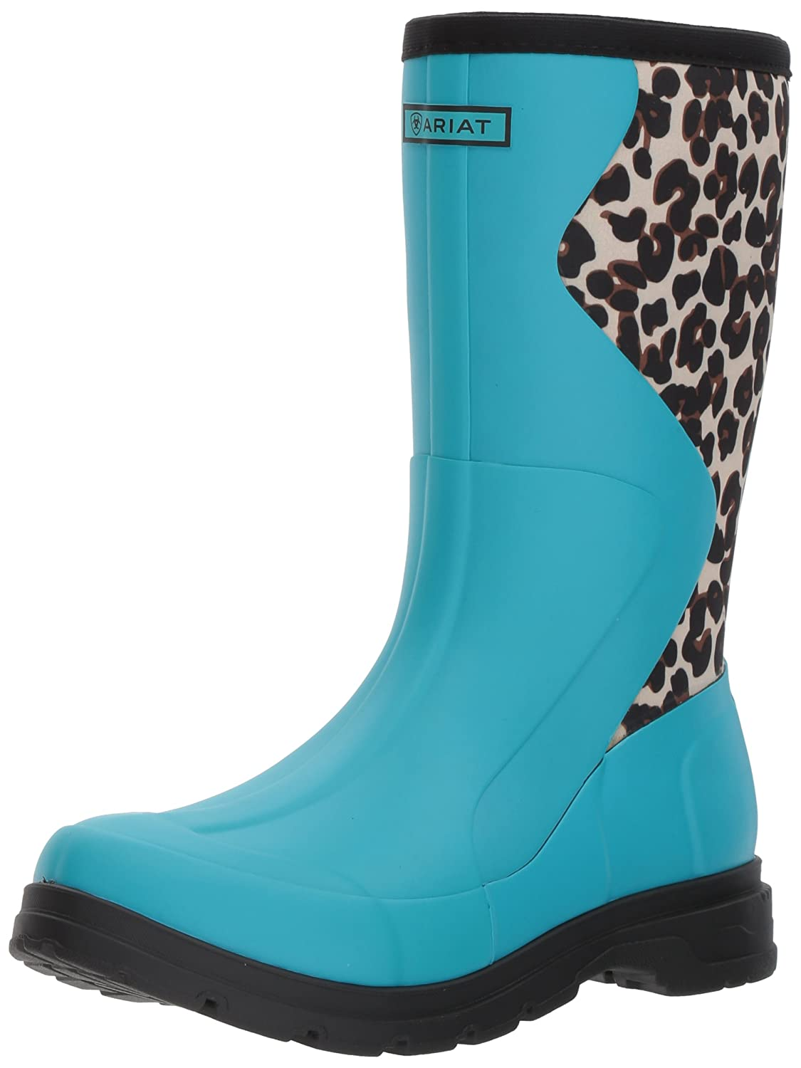 Ariat Women's Springfield Rubber Work Boot B01MRBKN6X 9 B(M) US|Bright Aqua