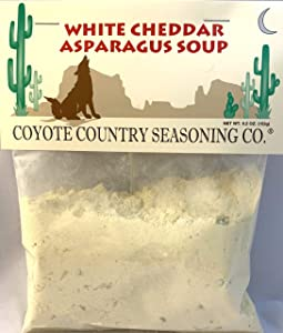 Coyote Country's White Cheddar Asparags Soup Mix (3 Pack)