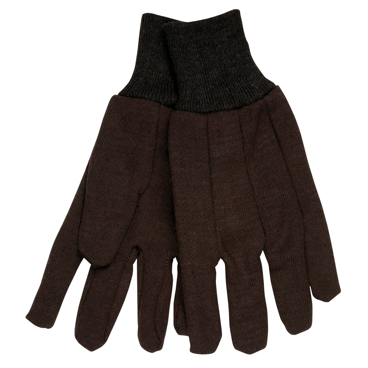 Memphis 7100 Brown Jersey Work Gloves (300 Pair) (1 Case) by Memphis Gloves (Image #1)