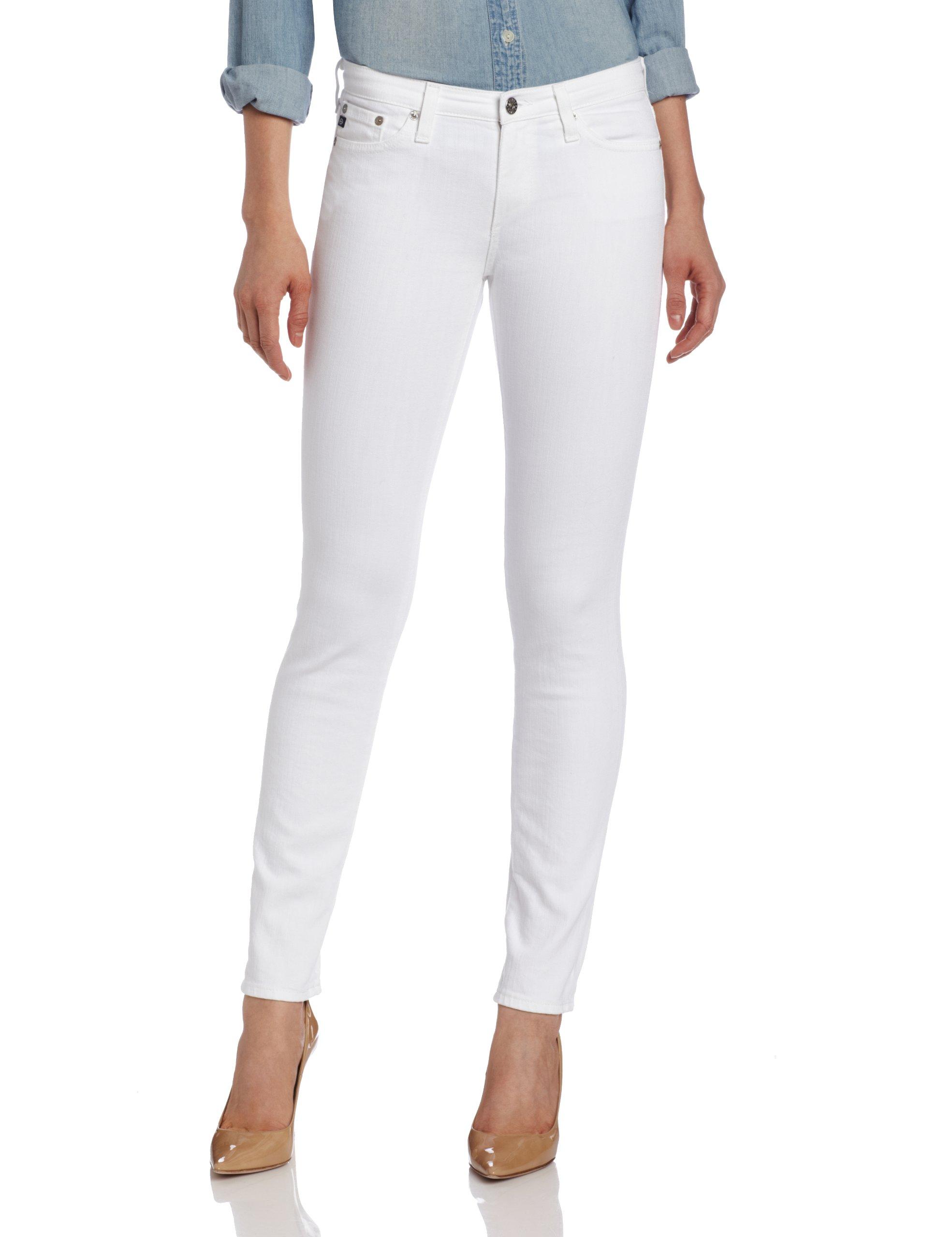 AG Adriano Goldschmied Women's Prima Jean, White, 31 by AG Adriano Goldschmied