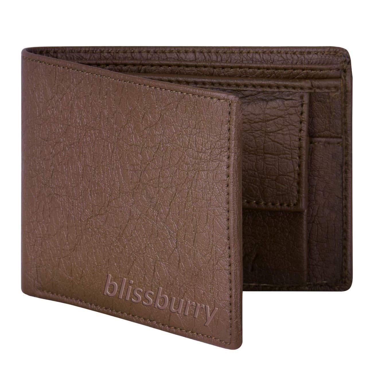 Blissburry Leather Wallet for Men for ₹199