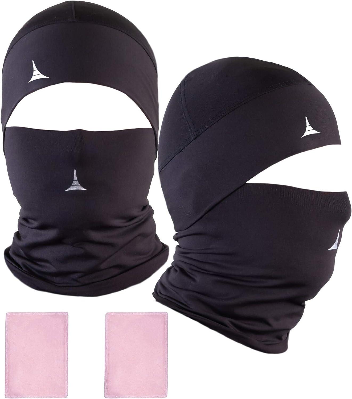 UV//Wind Protection Reusable Washable Stretchy Breathable Bandana for Yoga Running Hiking Balaclava Headwear Neck warmer Stone Island Unisex Neck Gaiter Tube Snood Face Coverings