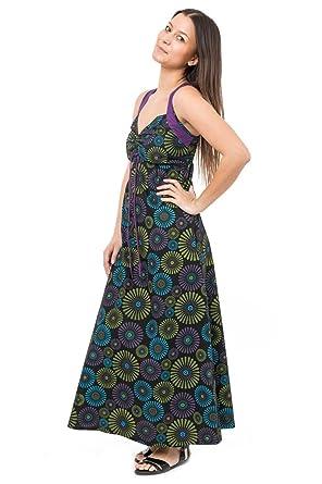 69e33eb384b FANTAZIA Robe Longue Originale modulable Naraka - S - (34-36)  Amazon.fr   Vêtements et accessoires