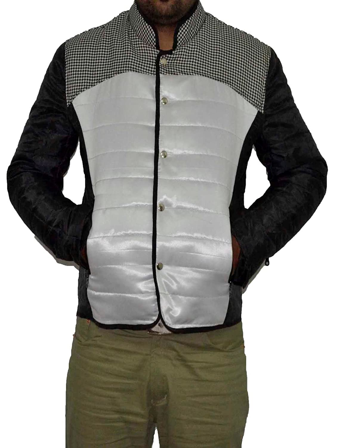 Life black & white parachute down jacket. XXS-5XL sizes available