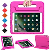 BMOUO Case for iPad 9.7 Inch 2018/2017/iPad Air 2/iPad Air - Shockproof Case Light Weight Kids Case Cover Handle Stand…