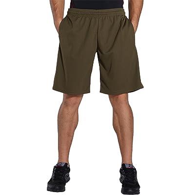 Komprexx Mens Quick Dry Basketball Shorts Workout Fitness Training Short with Pocket Summer Running Gym Sportswear