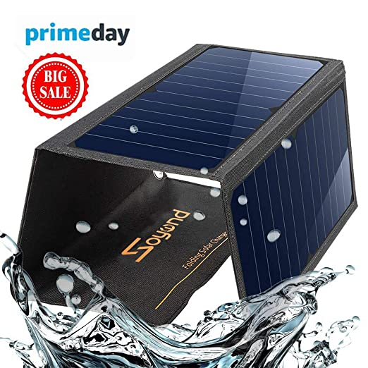 Soyond - Cargador de teléfono con Panel Solar Plegable y ...