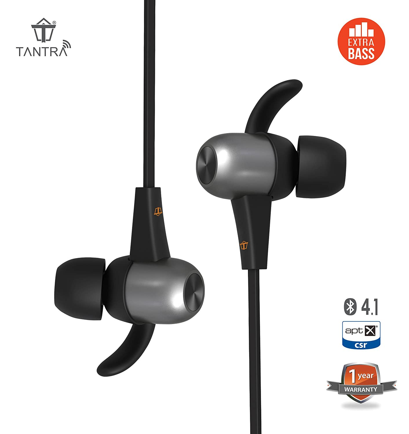 Tantra Power Boat Bluetooth In Ear Sweatproof Noise