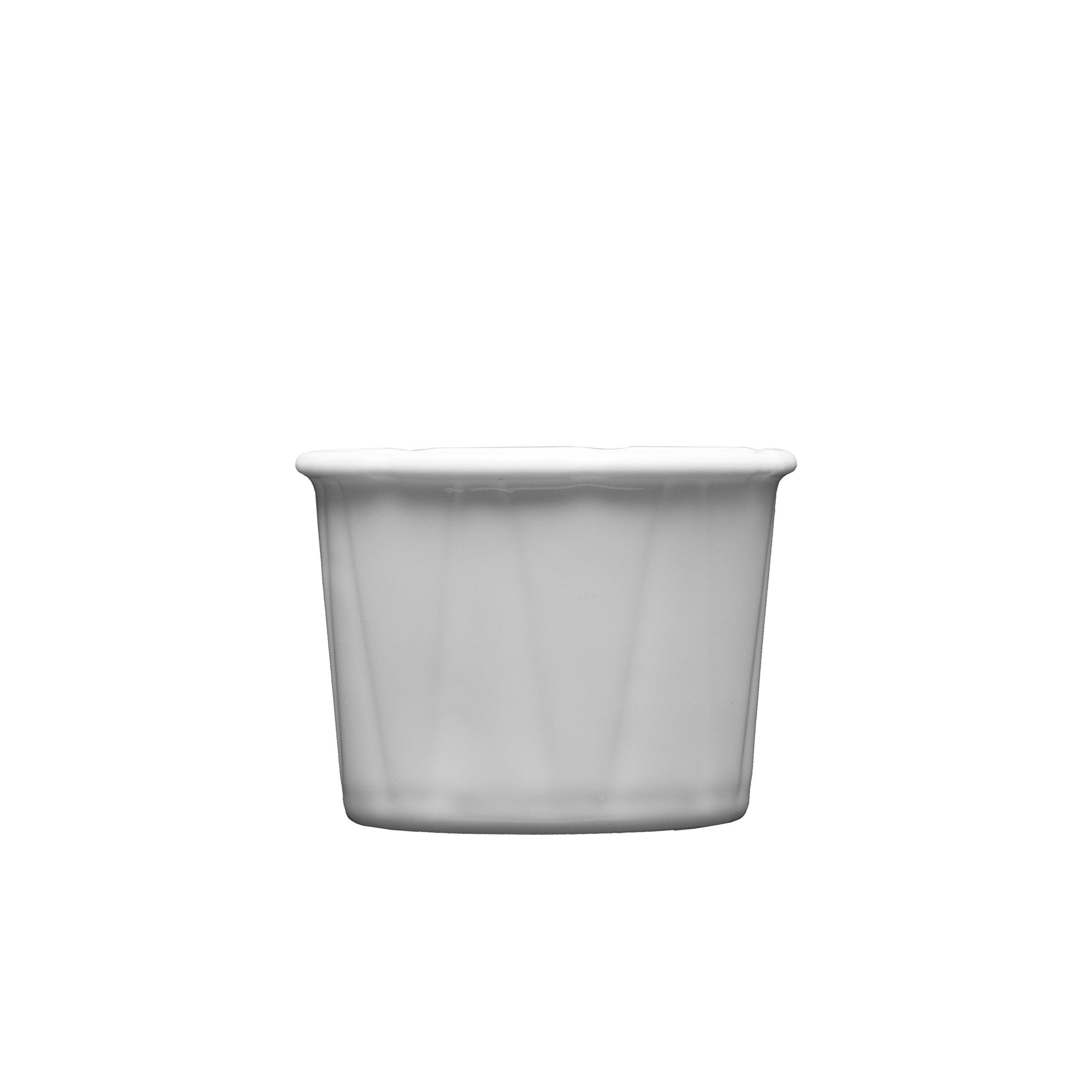 Fortessa Fortaluxe Food Truck Chic Small Condiment/Soufflà Dish, 2.25-Inch, Set of 4