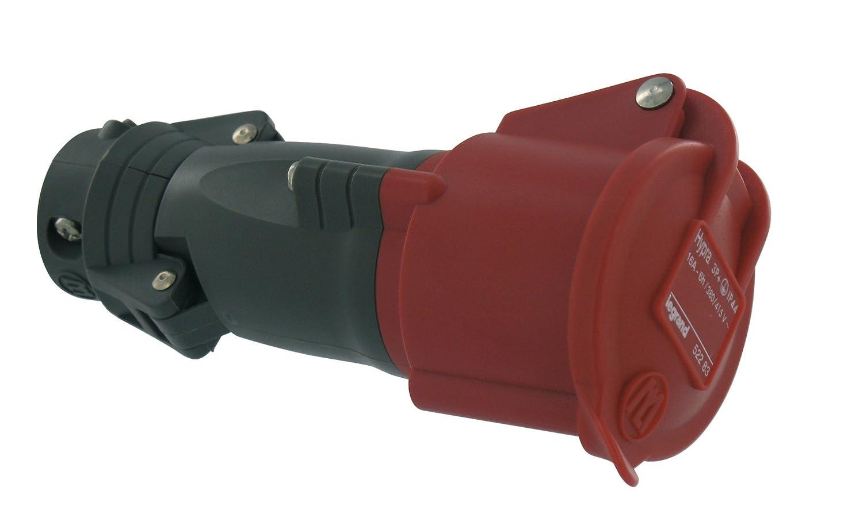 Legrand LEG52284 Prise mobile hypra IP44 16 A 380//415 V~ 3p+n+t plastique