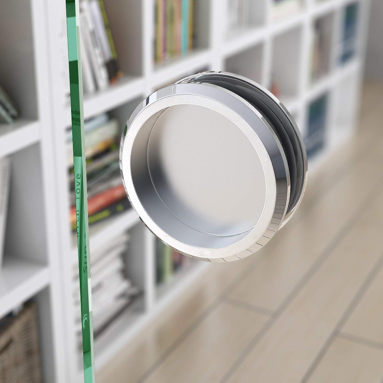 Sogood 90x205 cm Design Glasschiebet/ür Amalfi TS19-900 KMG ESG Sicherheitsglas Klarglas Schiebet/ür Glast/ür Zimmert/ür B/ürot/ür