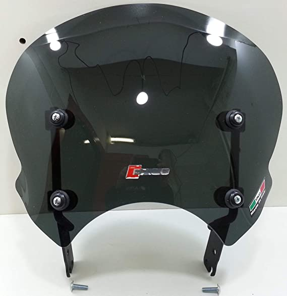 Windschild Dunkel 3 Mm Fantic Kabalro Scrambler 125 250 500 18 19 Code 29077 Auto