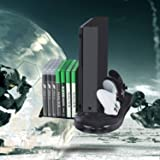 Charging Station for Xbox One X,Charging Dock for