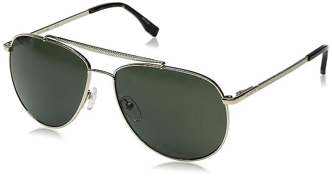 274f6ca82b Amazon.com  Lacoste Men s L177SP Polarized Aviator Sunglasses Gold ...