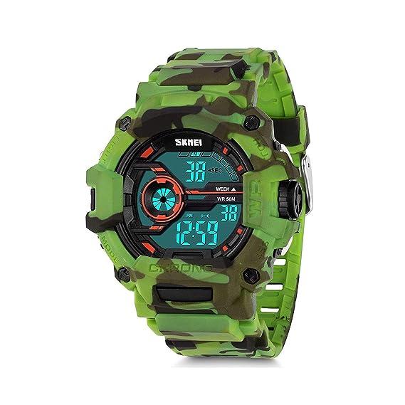 Reloj - KAUO - para - Y-1233-camouflage Green-F e18f3e198f88