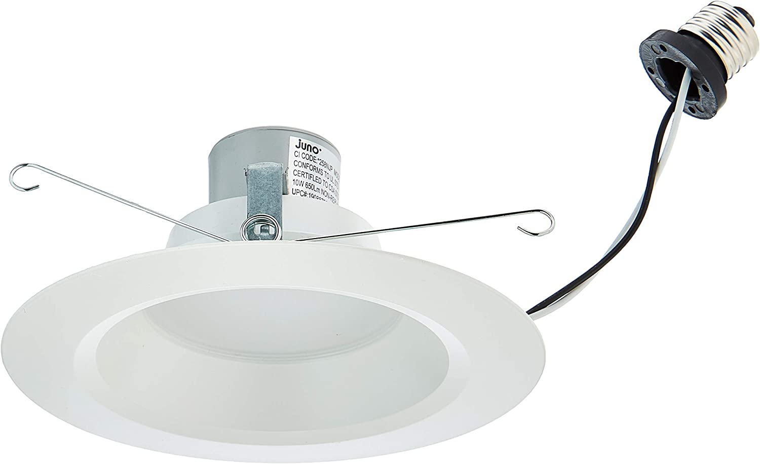 """GE 2 Pack 6/"""" LED Ceiling//flood Light 10W//65W Dimmable Recessed Downlight 3000K"""