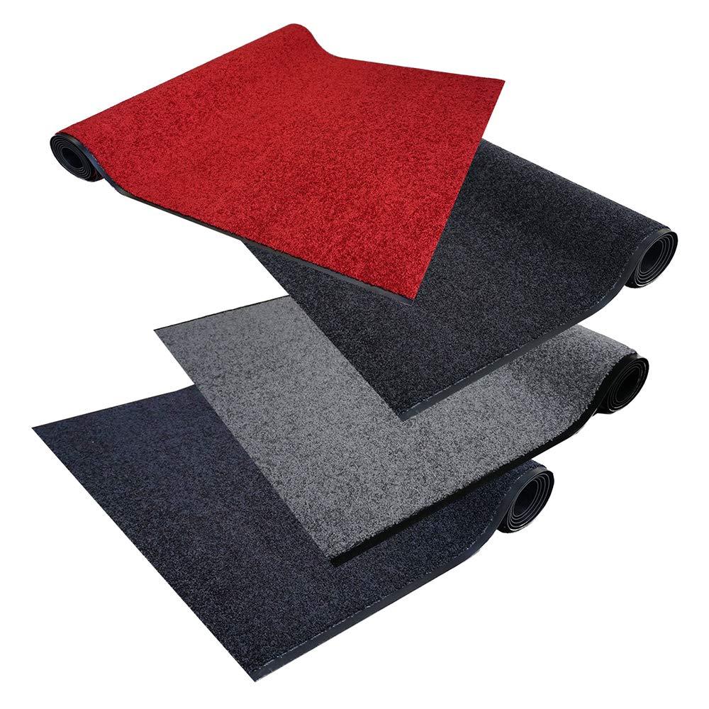 Matten-Center Schmutzfangmatte PT-max Uni Meterware   Fußmatte in Wunschlänge   90 und 120 cm Breite, 100-600 cm Länge   ab 62,84 € (46,55 € m²)   gewählt  120 cm breit, 351-400 cm lang, schwarz
