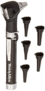 Welch Allyn Pocketscope Jr. Otoscope With Aa Handle, Pocket Clip 22840