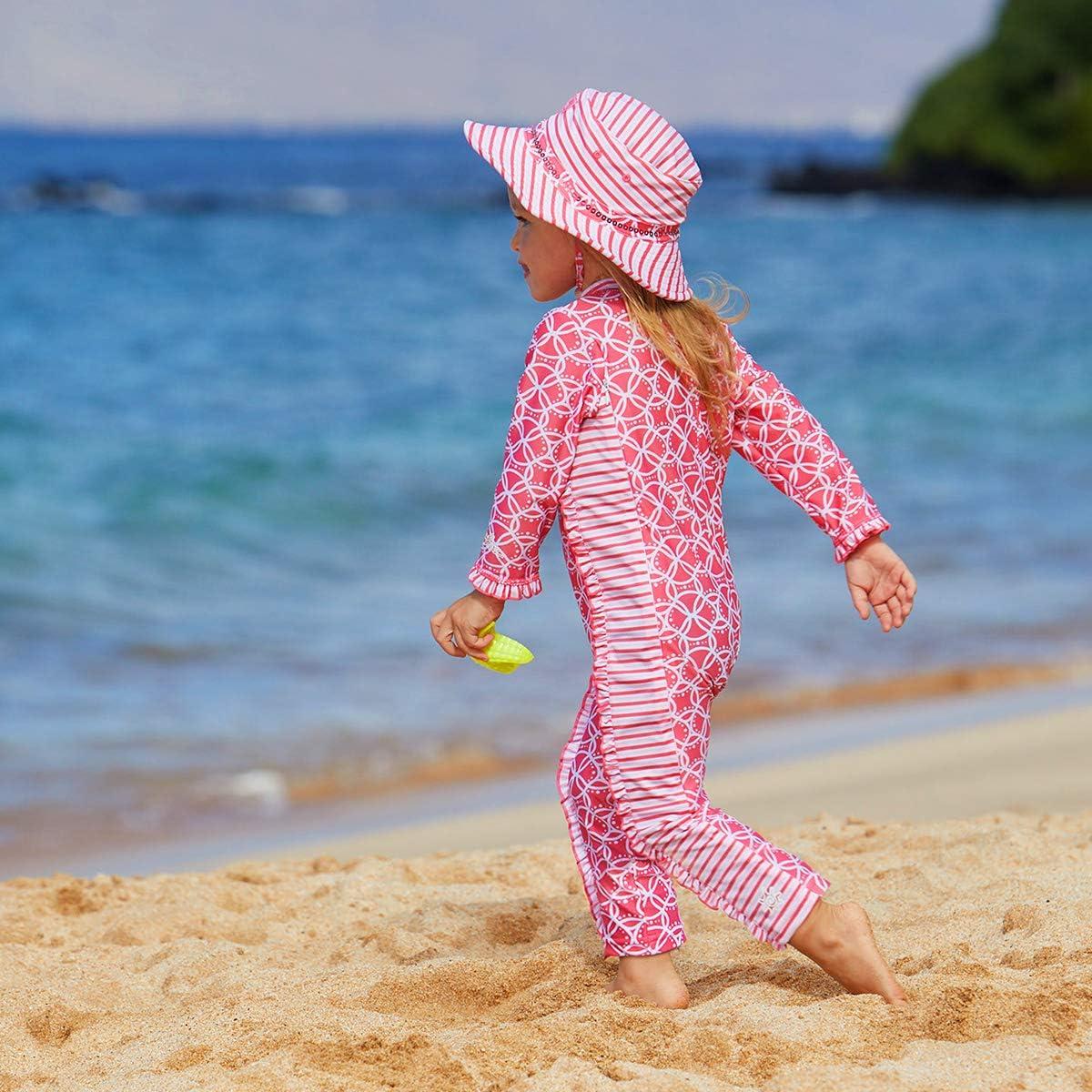 UV SKINZ UPF 50 Baby Girls Sun /& Swim Play Suit