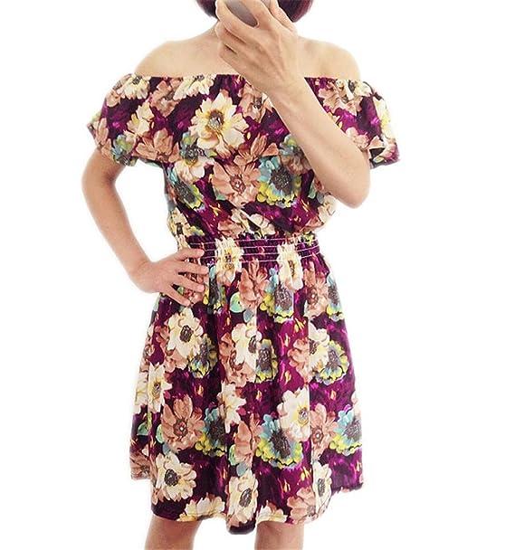 2913c5ab05b Fashion New Summer Dress Women Clothing Floral Print Pattern Casual Dresses  14 S