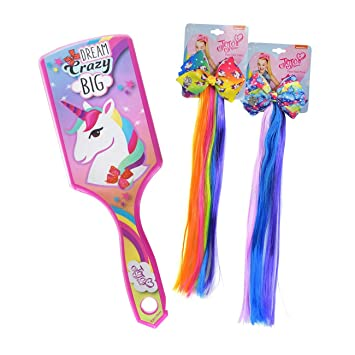 a62ac9182fe984 Kindermode, Schuhe & Access. JoJo Siwa Hair Brush Dream Crazy Big Turquoise  Girls Hair Accessories Mädchen-Accessoires