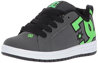DC Shoes Men's Court Graffik Low Top Shoes Black 12.5 7Ik0Wx