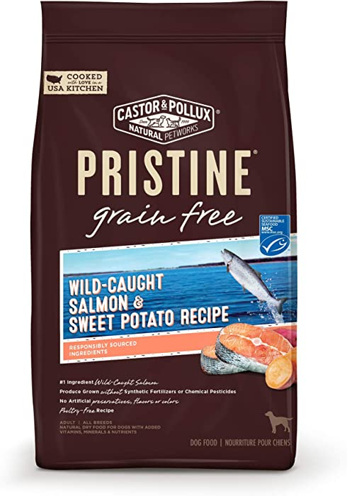 Pristine Wild-Caught Salmon & Sweet Potato Recipe, 4 lb