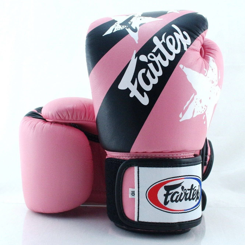 """descuento de ventas Promoción por tiempo limitado Fairtex Muay Thai guantes de de de entrenamiento de """"unidas impresión – bgv1-np rosa  protección post-venta"""