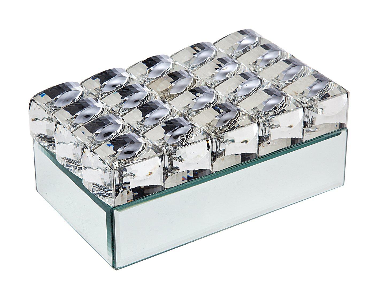 Philip Whitney 8x5 Lg Bling Box Silver