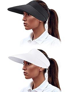 a48f446d1 Women's Big Wide Brim Sun Hat UV Protection Visor Sun Hat ...