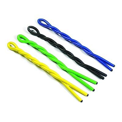 """IdeaWorks Gorilla Ties - Reusable Ties for Hanging Items - Rust-Free Material - for Indoor & Outdoor Use (4, 39"""") : Garden & Outdoor"""