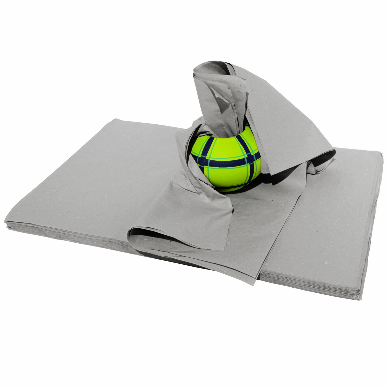 5 kg Packseide 75cm x 100 cm grau, Seidenpapier Polsterpapier Geschirrpapier Packpapier tissue paper Richel GmbH - DropShip