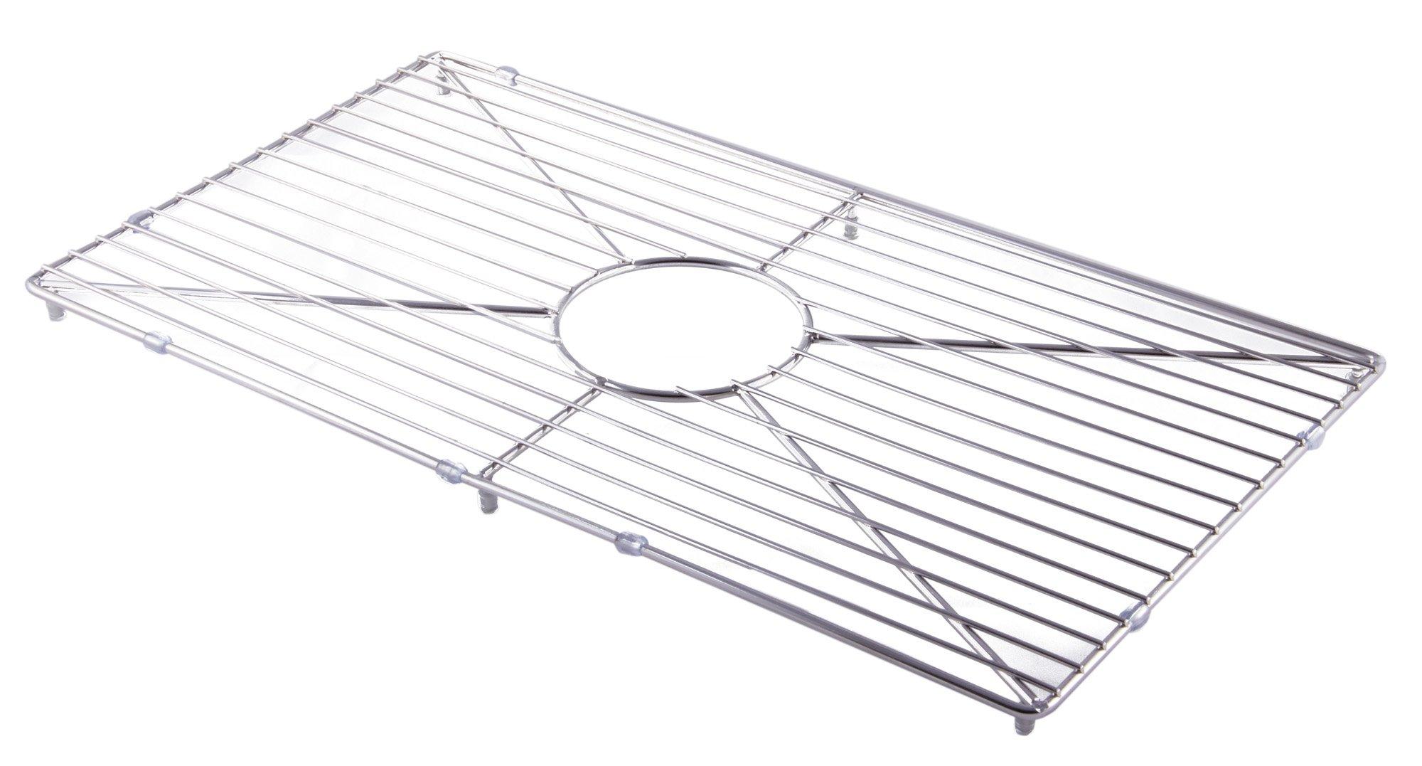 ALFI brand ABGR3018 Solid Kitchen Sink Grid, Stainless Steel
