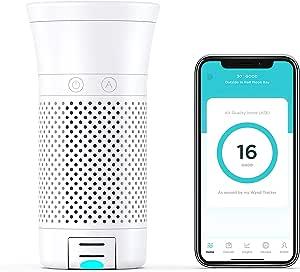 WYND Smart Portable Air Purifier (purificador de ar portátil ...