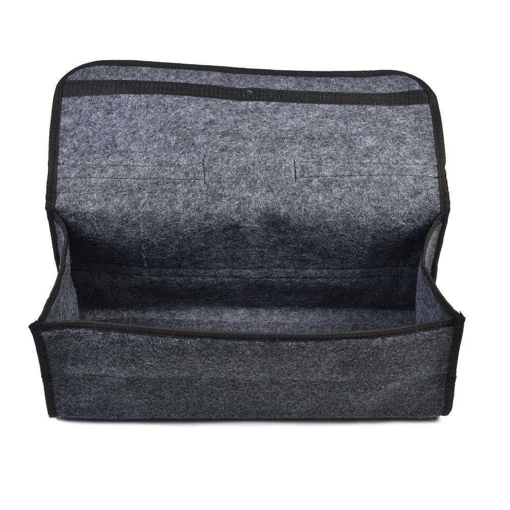 Rangement de Coffre de Rangement Sac /à Outils Grande capacit/é Pliable et Portable Kathariiy Organiseur de Coffre pour Voiture