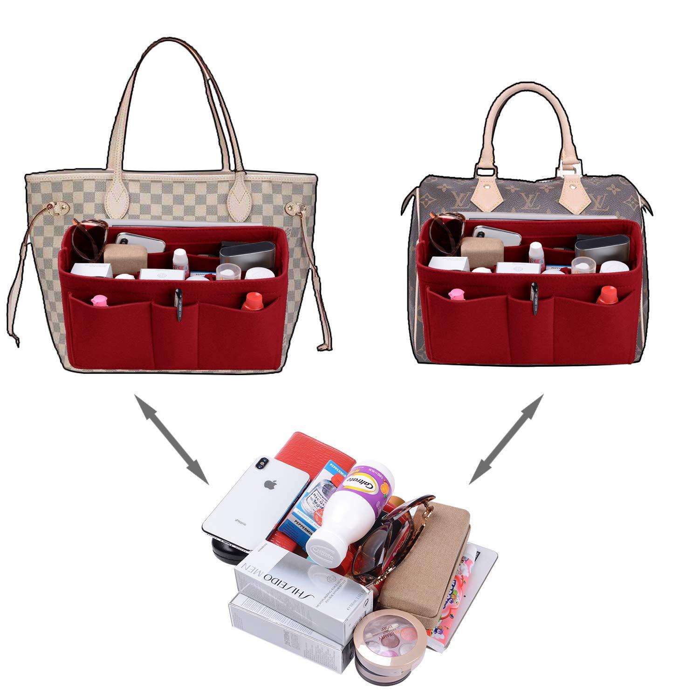Felt(3MM) Fabric Purse Organizer Insert for Purse Handbag Tote Bag, 3 Sizes, 8 Colors by ETTP (Image #4)