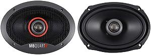 MB Quart FKB169 MB Quart Formula 6 x 9-Inch 2-Way Car Speakers, Black