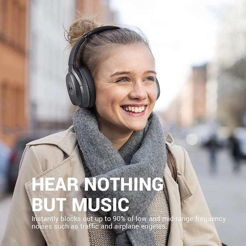 EKSA E5 蓝牙5.0 主动降噪头戴式耳机 7.5折$50.99秒杀 海淘转运到手约¥401