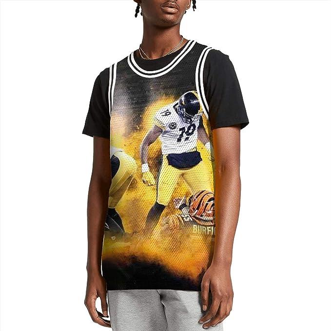 Amazon.com: Camiseta de baloncesto suave con diseño de ...