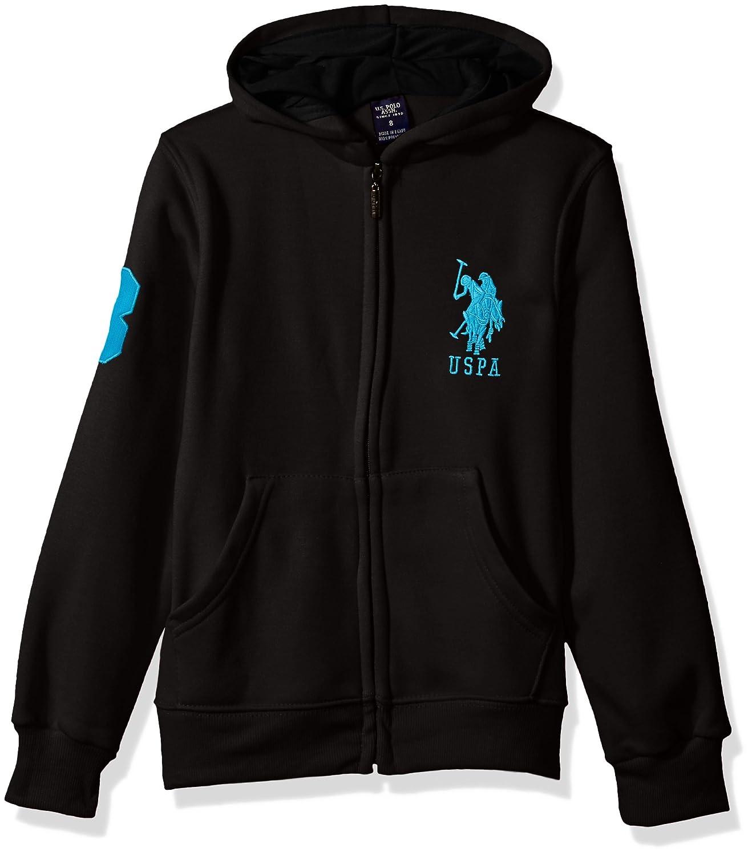 Polo Assn U.S Boys Hooded Zip or Snap Fleece Jacket