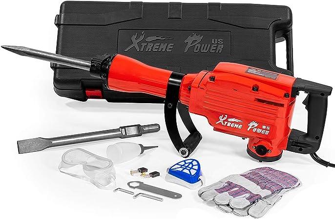 Amazon.com: Xtremepowerus Heavy Duty Electric Jack Martillo ...