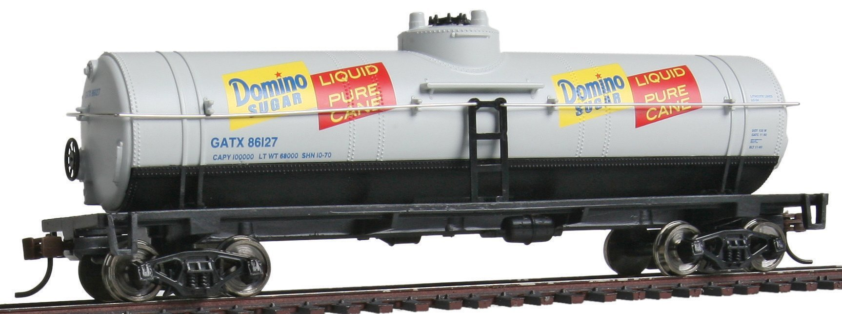 Walthers Trainline 40' Tank Car - Ready to Run Domino Sugar GATX 86127