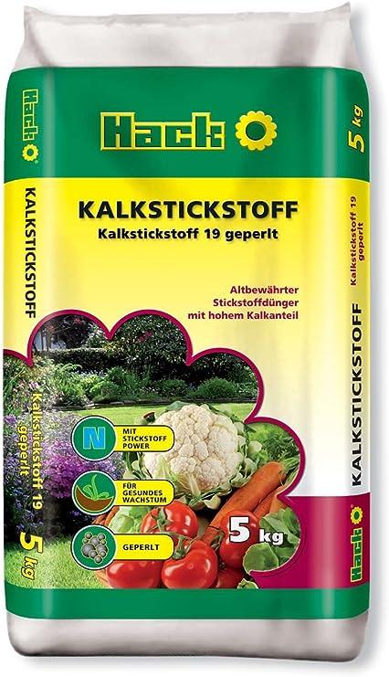 CAL geperlt Carnicero con Nitrato 5 kg: Amazon.es: Jardín